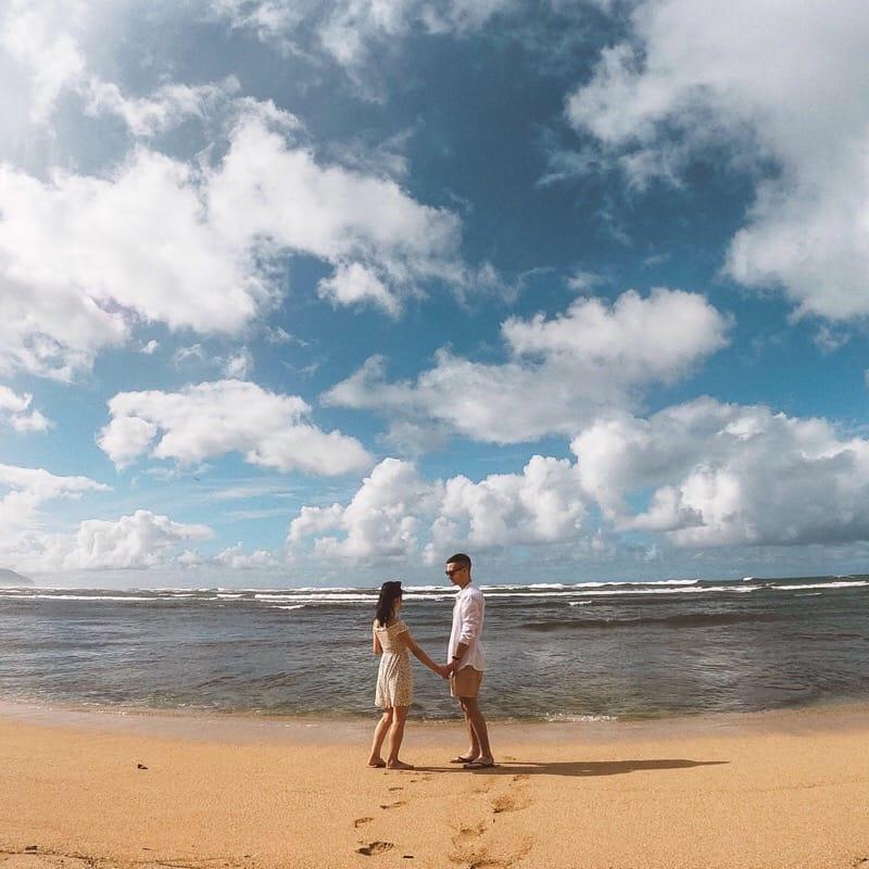 ハワイカップル