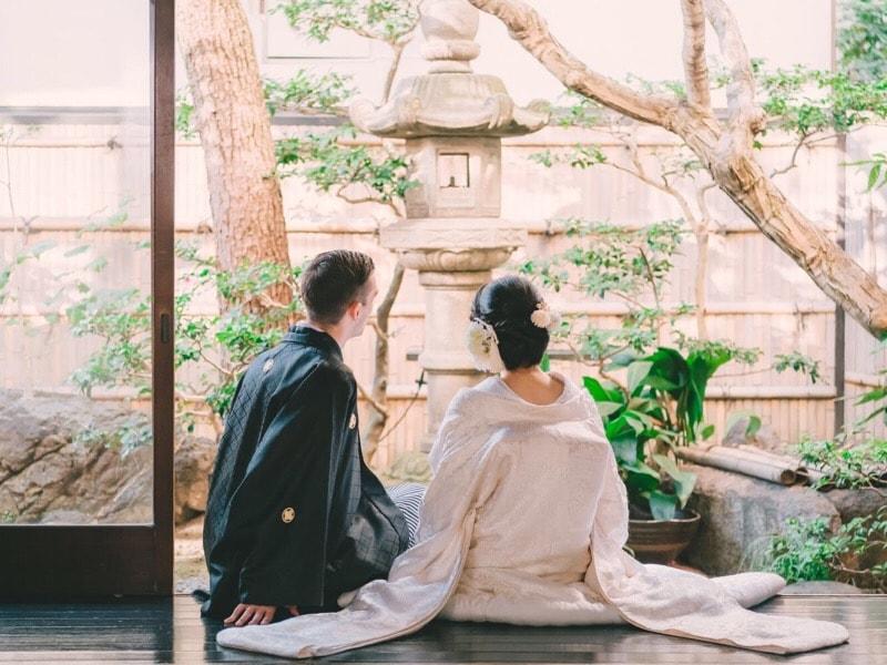 京都前撮り国際カップル