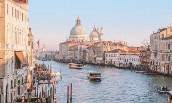 アカデミア橋ベネチア絶景