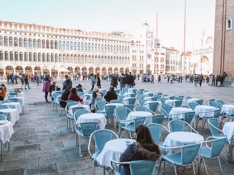 ベネチアサンマルコ広場