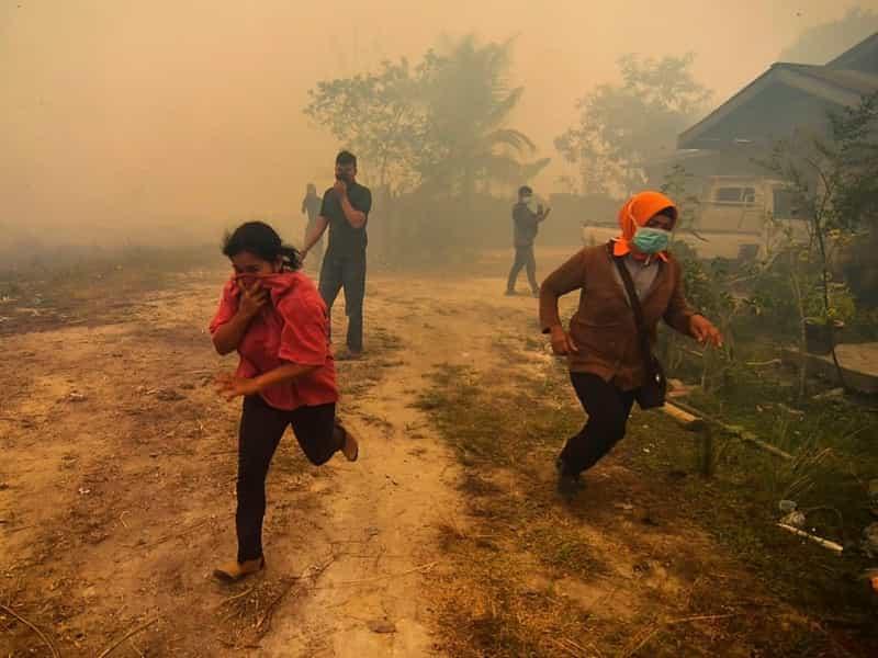 インドネシア火災