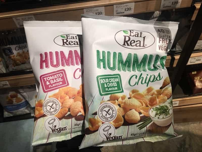 HUMMUS CHIPSヴィーガン